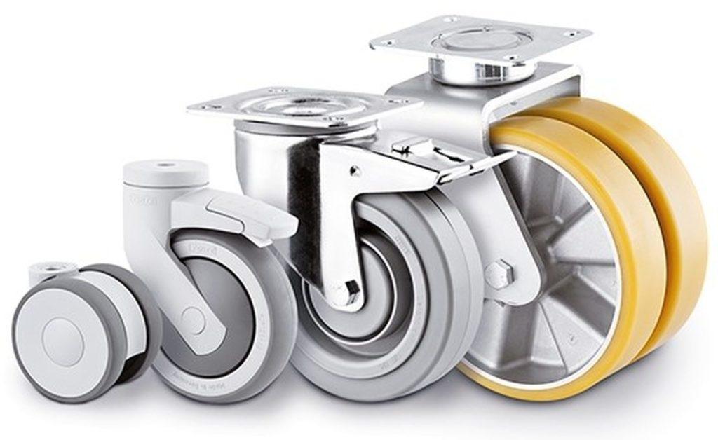Wilno Rustfri ApS - Vi anvender solide og holdbare hjul til vores vogne / rullemateriel