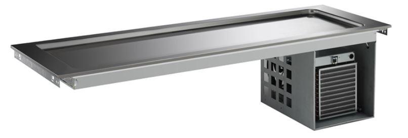 Drop_in køleplade med kompressor