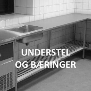 Produkter efter mål - Rustfrit køkkeninventar - Understel og bæringer - Wilno Rustfri ApS