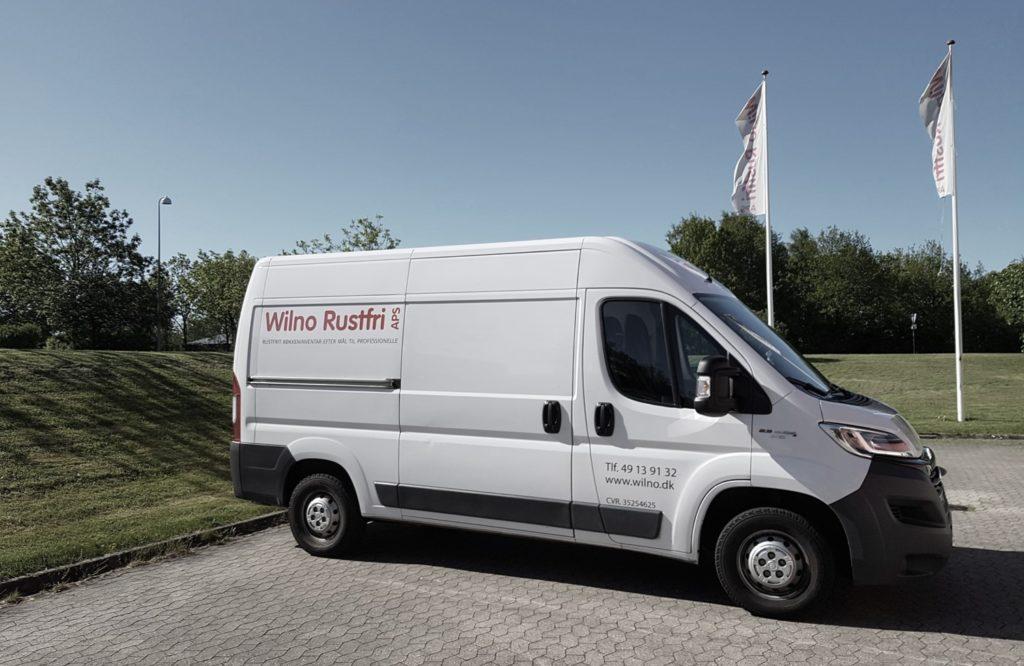 Wilno Rustfri ApS - Vi producerer rustfrit køkkeninventar efter mål til det professionelle storkøkken / industrikøkken