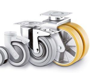 Rullemateriel med solide og holdbare hjul - ideelt til storkøkken / industrikøkken