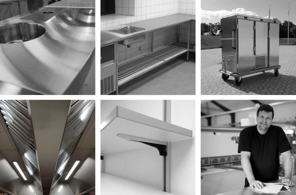 Wilno Rustfri ApS - Rustfrit køkkeninventar efter mål til professionelle – Cateringinventar til storkøkkener / industrikøkkener