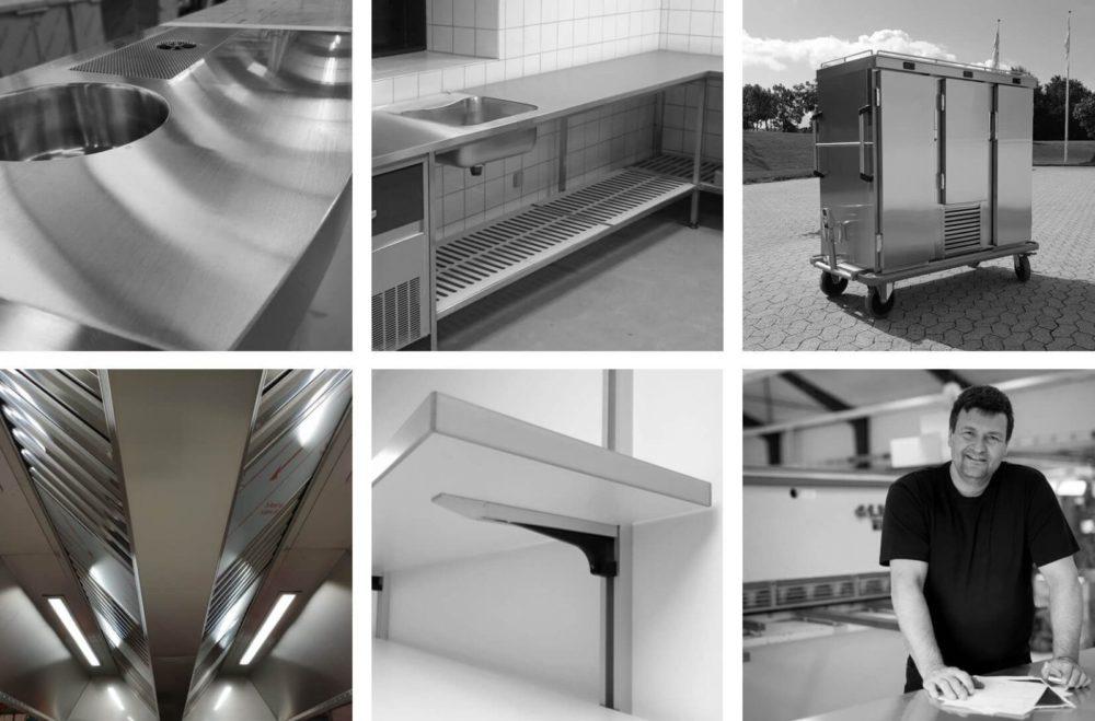 Wilno Rustfri ApS - Vi producerer rustfrit køkkeninventar efter mål til professionelle