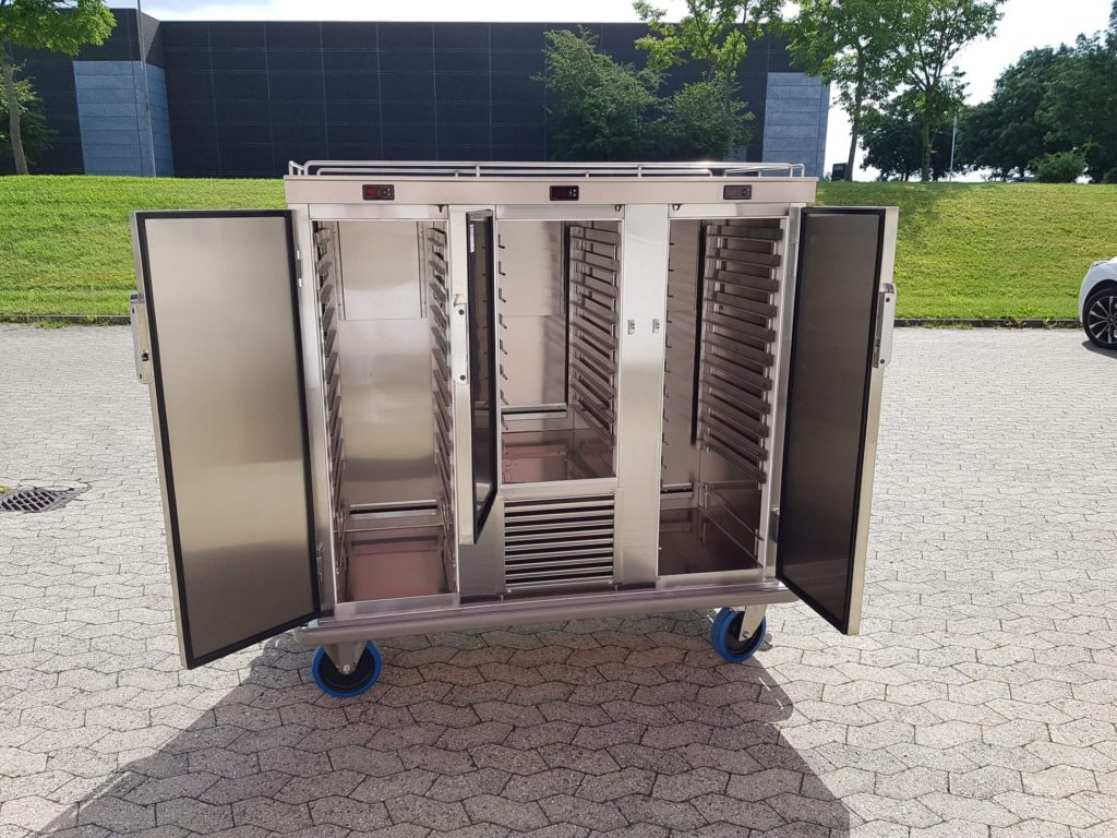 Madtransportvogn med ventileret kølefunktion