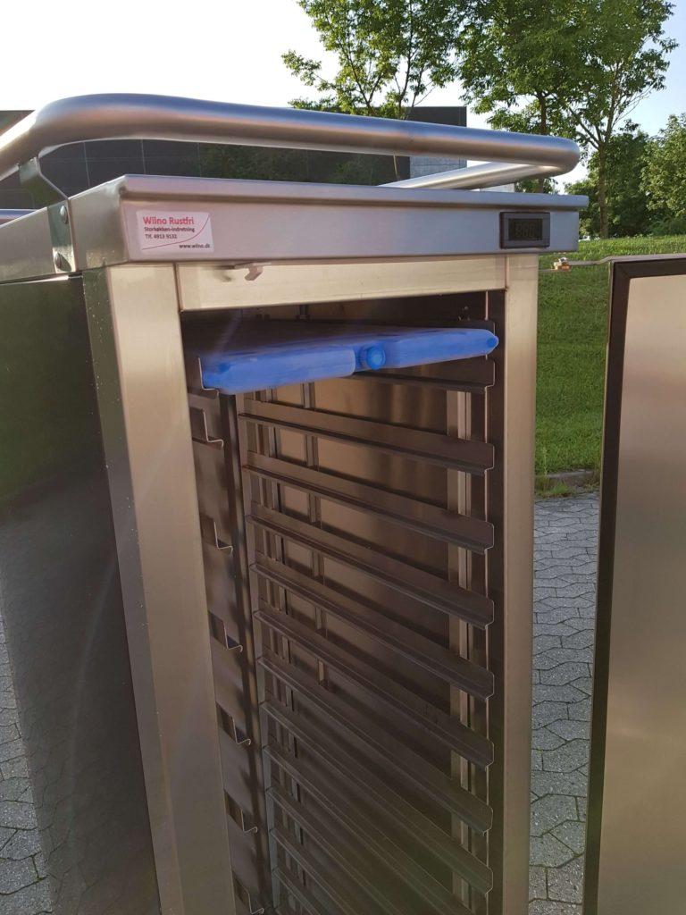 Wilno Rustfri ApS - Madtransportvogn med kølebriketter. Optimal køl i op til 8 timer